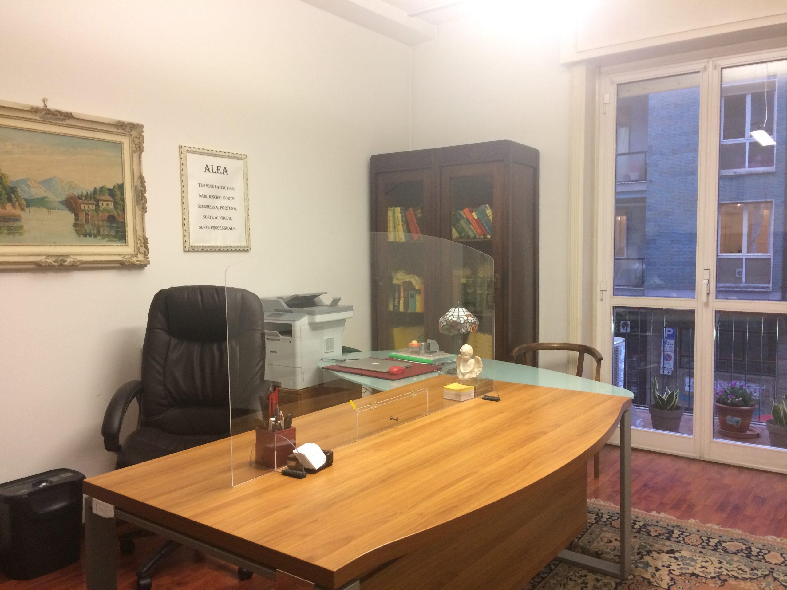 L'ufficio è stato messo in sicurezza